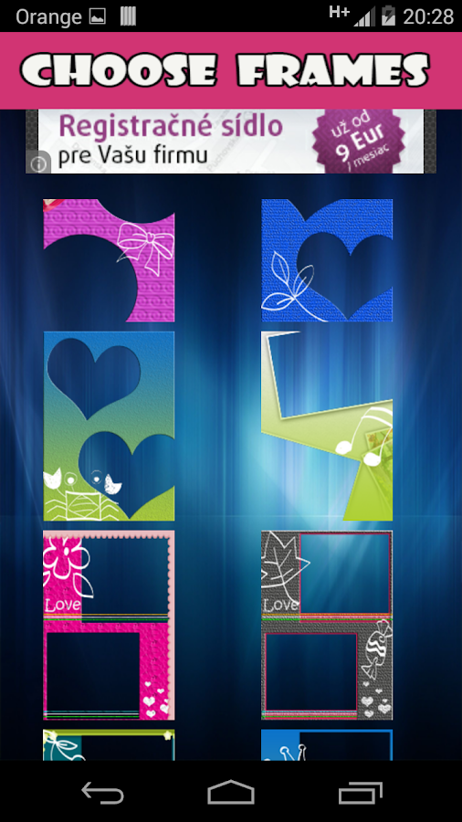 magic frames screenshot