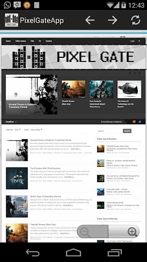 Pixel Gate