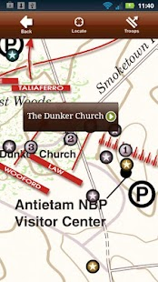 Antietam Battle App- screenshot thumbnail