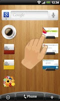 Screenshot of Biz cards viewer Carda Widget