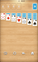 Screenshot of Solitaire classic card game