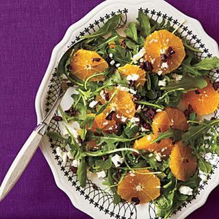 Orange-and-Black Salad Platter