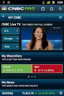 CNBC PRO for Phones