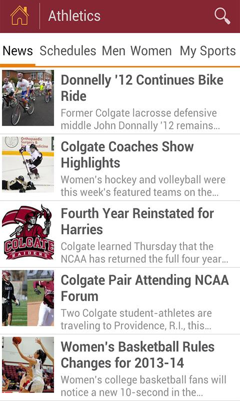 Colgate Mobile - screenshot
