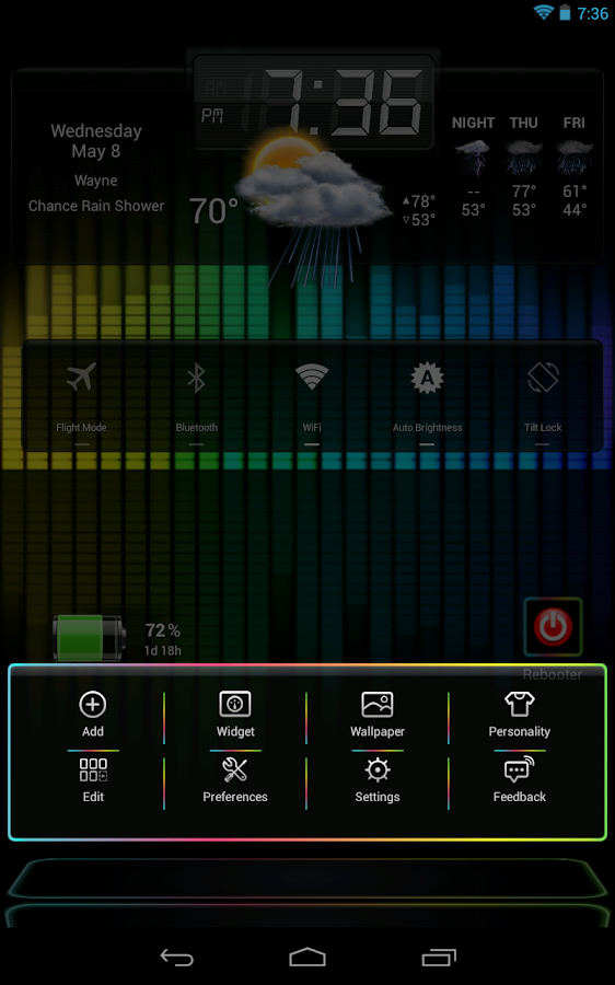 Next Launcher 3D Nex HD- screenshot