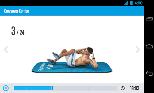 Runtastic Six Pack Abs Workout Pro v1.1  Mod APK 3