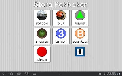 Stora Pekboken- screenshot thumbnail