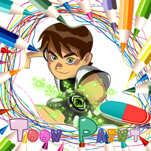 Toon Paint Coloring Pages V.5 教育 App LOGO-APP開箱王