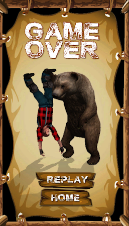 Danger Runner 3D Bear Dash Run 1.5 screenshot 1646795
