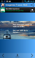 Screenshot of Imagenes Frases Motivadoras