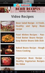 Bean Recipes! - screenshot thumbnail