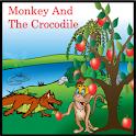 Monkey And The Crocodile logo