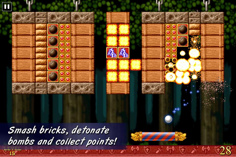 Bricks of Camelot- screenshot