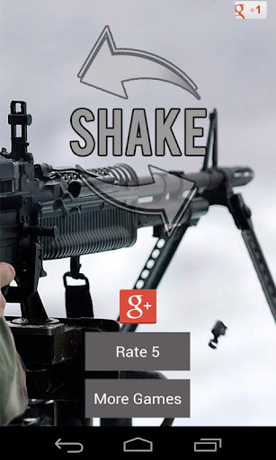 Machine Gun Sound Shake