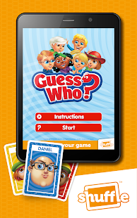 GuessWho Cards by Shuffle