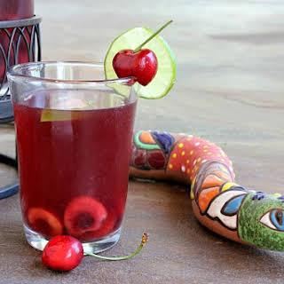 Cherry- Limeade Sangria.