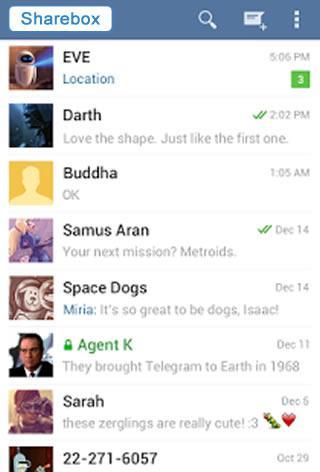 Sharebox Messenger Betà