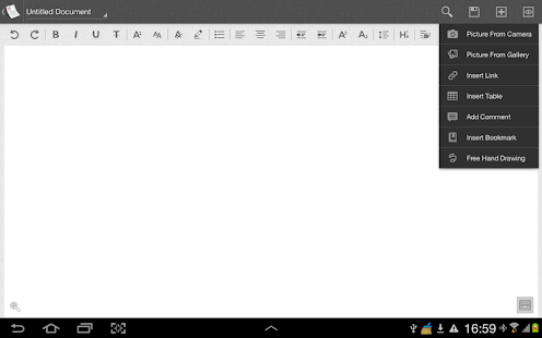 Zoho Writer - screenshot thumbnail