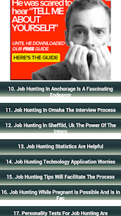 Job Hunting - screenshot thumbnail