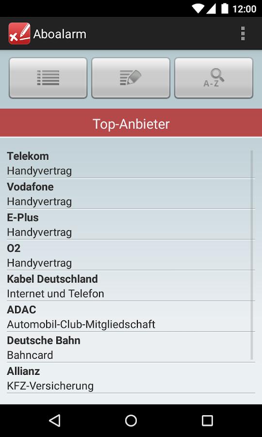 Aboalarm - screenshot