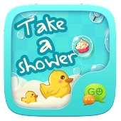 (FREE) GO SMS PRO SHOWER THEME