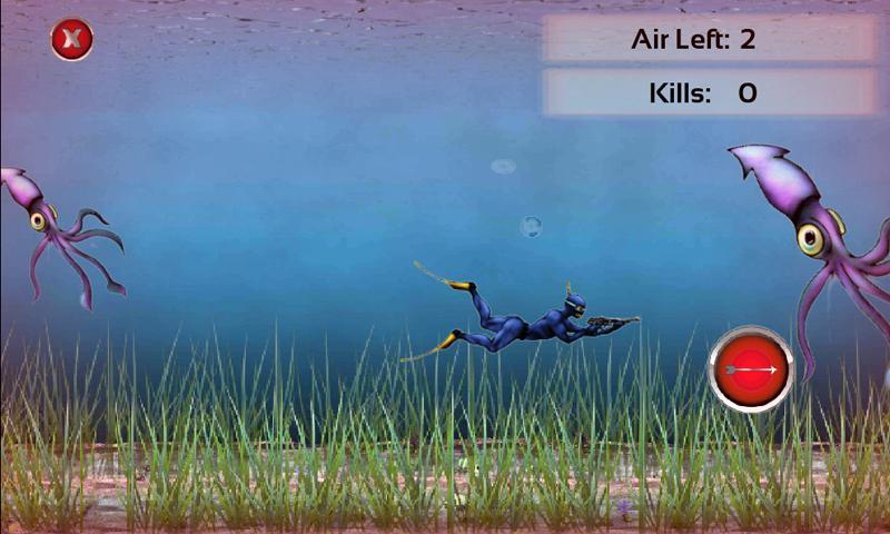 Scuba Hunter- screenshot