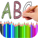 Coloring Book Alphabet icon