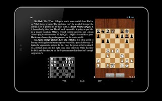 Screenshot of ebookdroid (Chess)