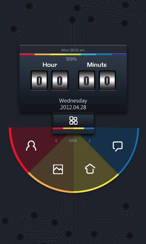 ZTICTOC GO Locker Theme - screenshot