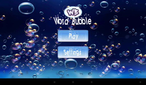 Word Bubble Marathon
