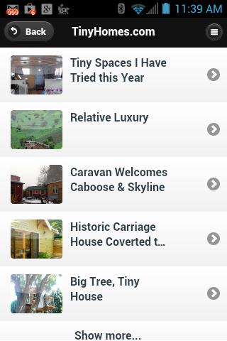 Tiny Homes