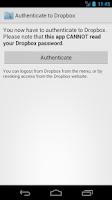 Screenshot of Folder Downloader for Dropbox