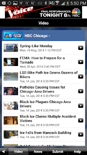 NBC 5 StormTeam- screenshot thumbnail