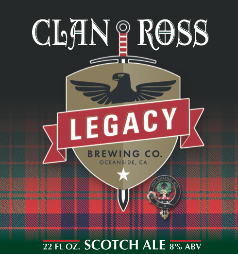 Logo of Clan Ross Scotch Ale