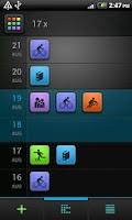 Screenshot of Florian - sport activity diary