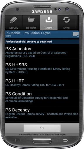 Pocket Survey PS PocketSurvey