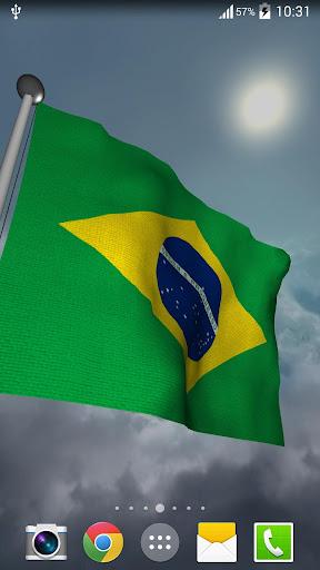 Brazil Flag + LWP