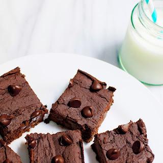 Flourless Double Chocolate Brownies