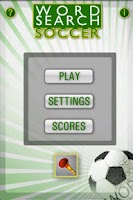 Screenshot of Word Search Soccer+