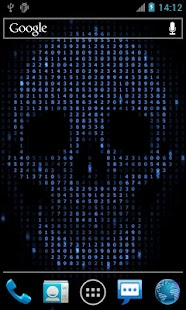 Digital Skull Live Wallpaper - screenshot thumbnail