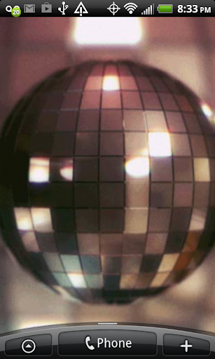 3D Disco Ball Live Wallpaper
