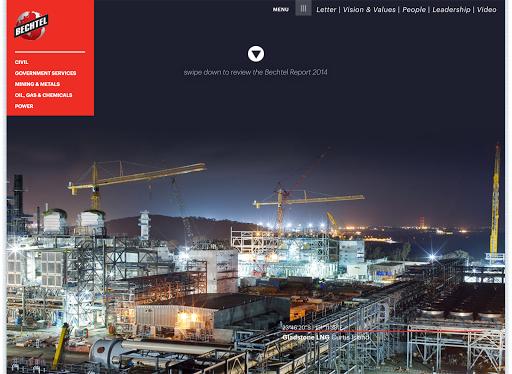 【免費商業App】Bechtel Annual Report-APP點子