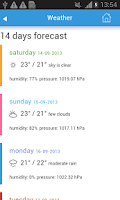 Screenshot of Budapest Guide Weather Hotels