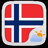 Norwegian Language GOWeatherEX