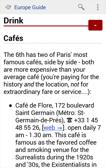 Europe Travel Guide Offline - screenshot