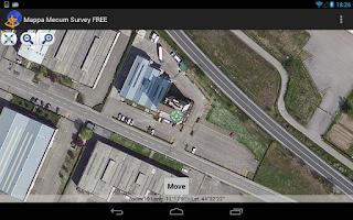 Screenshot of Mappa Mecum Survey FREE