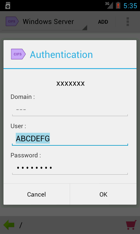 Folder Tag for CIFS/SMB - screenshot