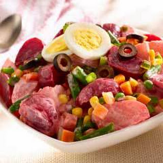 Potato Beet Salad.