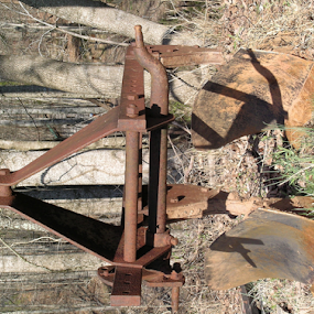 The old plow by Norma Moore - Artistic Objects Other Objects