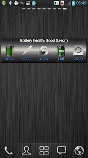 WBatteryWidget- screenshot thumbnail